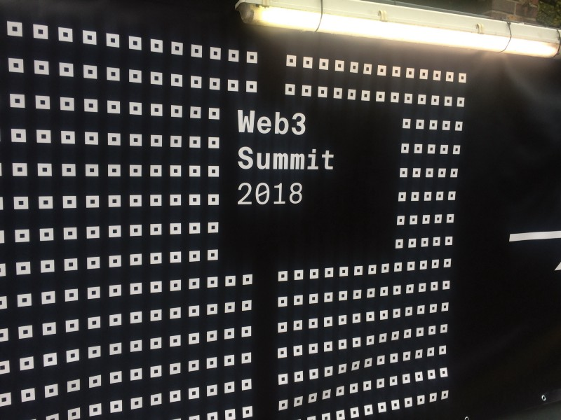 At the Web3 Summit in Berlin 1