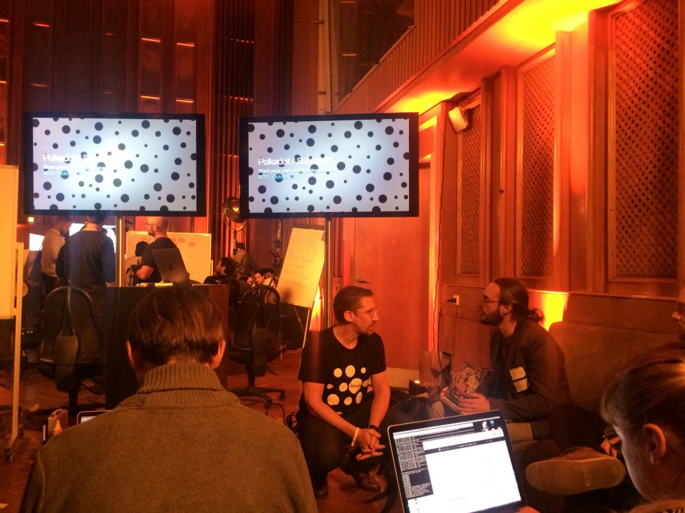 At the Web3 Summit in Berlin 8