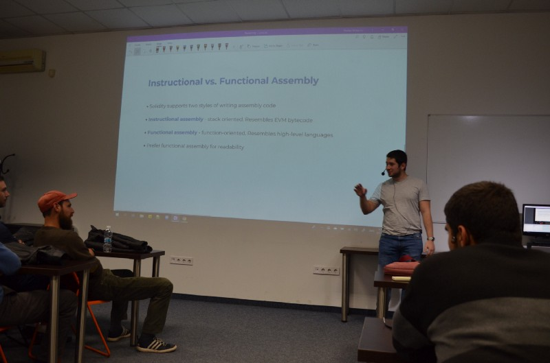 Blockchain Developers Meetup Bulgaria- #0x04  - Introduction to Solidity Assembly 2