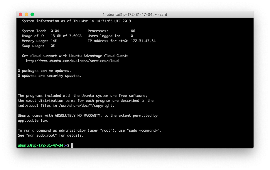 How to run your own Aeternity node on Amazon AWS 16