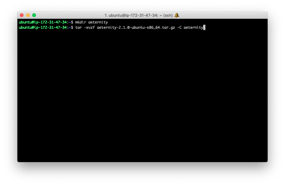 How to run your own Aeternity node on Amazon AWS 19
