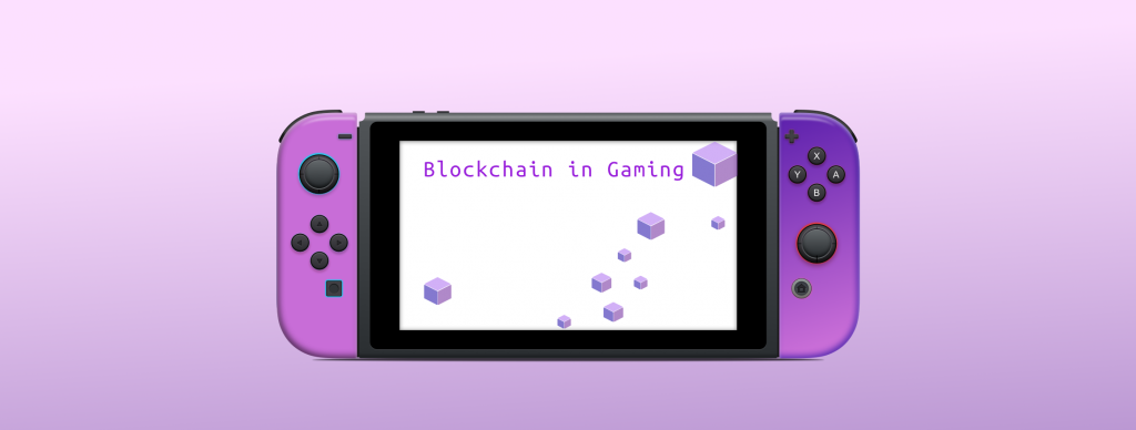 Blockchain application in Games