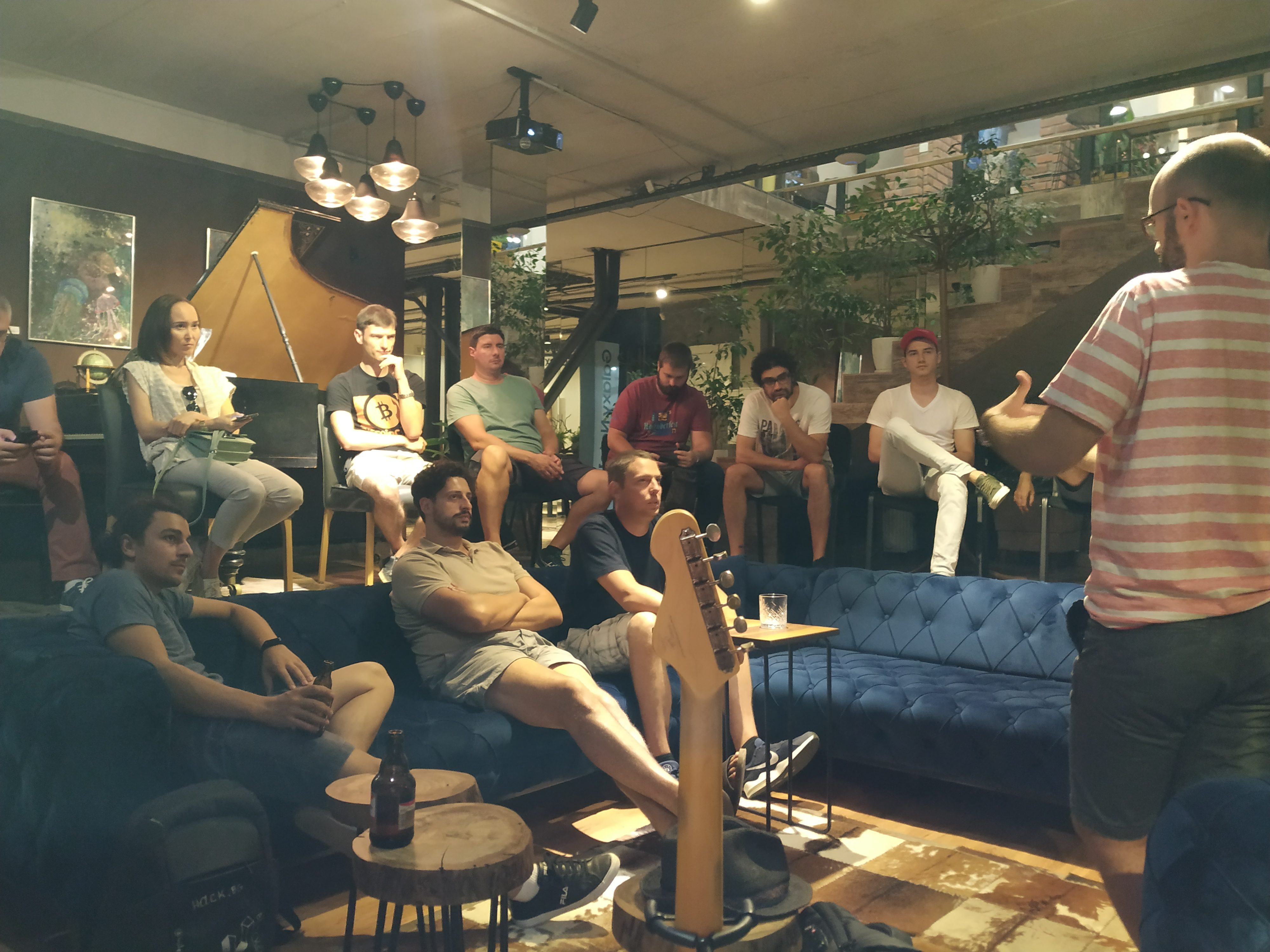 Blockchain Developers Meetup - Accepting Bitcoin the right way