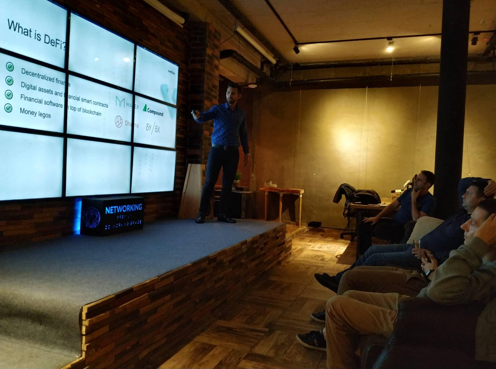 0x0e. Building dApps on top of DeFi (Decentralized Finance) - Blockchain Developers Meetup 1